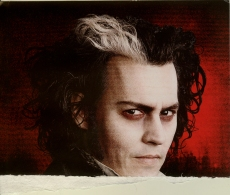 Sweeney Todd Ticket Front